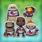 LittleBigPlanet Loves Chile T-shirt