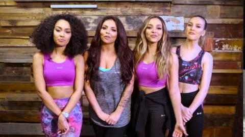 Happy New Year from USA Pro & Little Mix!