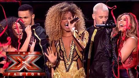 Little Mix and Fleur East sing Black Magic Sax The Final The X Factor 2015