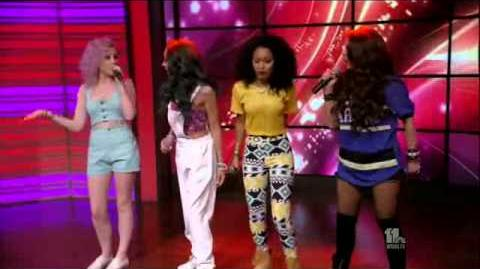Little Mix- Wings Interview (Live! With Kelly and Michael 10. 06