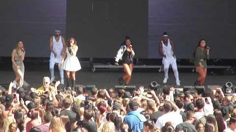 Wings - Little Mix @ Billboard Hot 100 Music Festival - August 22, 2015