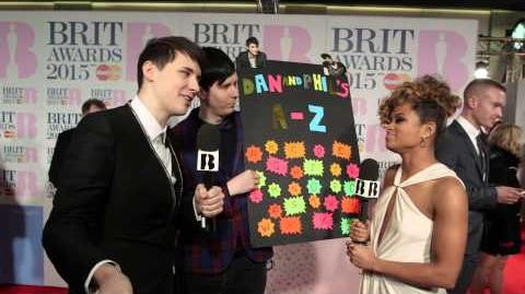 Dan & Phil's BRITs A-Z BRIT Awards 2015