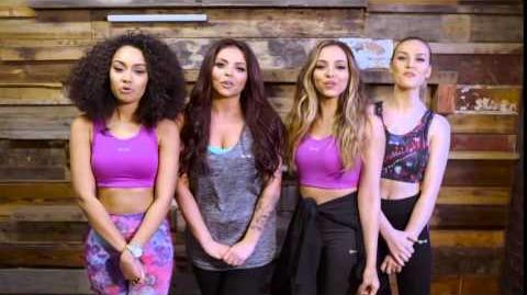 Merry Christmas from USA Pro and Little Mix!