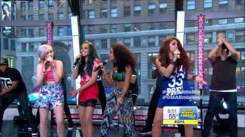 HD Little Mix - Wings - GMA Concert Series 6-7-13