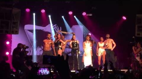 """Little Mix performing """"Sissy That Walk"""" at G-A-Y"""