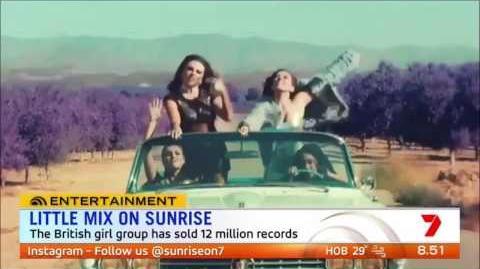 Sunrise Australia 'Little Mix' Perform 'Hair' LIVE - HD - 17th Nov 2016.