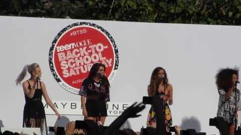 "Little Mix ""Change Your Life"" - The Grove LA for Teen Vogue BTSS"