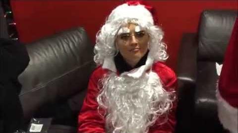 Little Mix become Little Santas!