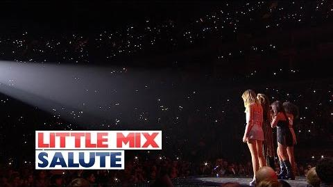 Little Mix - 'Salute' (Live At The Jingle Bell Ball 2015)
