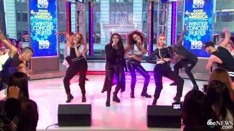 Little Mix - Move - Good Morning America (02 04 2014)
