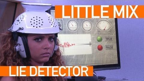 In Demand Lie Detector - Jade from Little Mix
