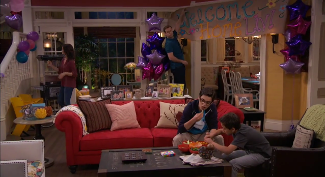 Liv And Maddie Living Room