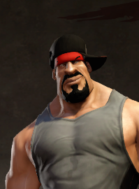 Rapper's hat