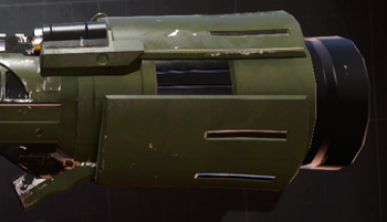 Heavy launcher barrel