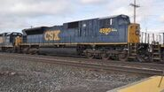 CSX Spirit of Benning SD80MAC