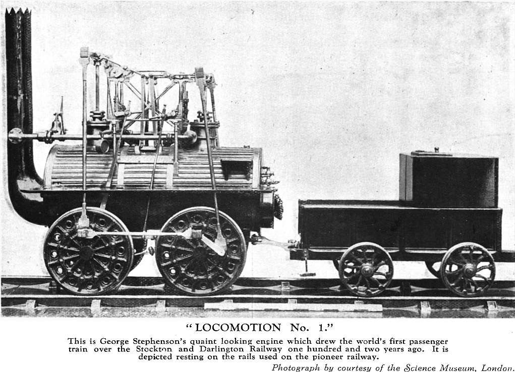 George Stephenson's First Steam Locomotive | History Today