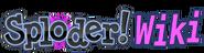 Sploder Wiki-wordmark