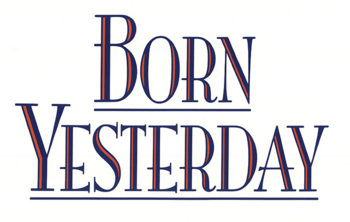 Born Yesterday 1993 movie logo