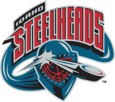 Idaho Steelheads logo (until 2006)
