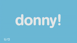 Donny opening title