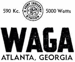 WAGA Atlanta 1943