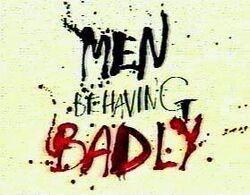 Men Behaving Badly (US)-Logo