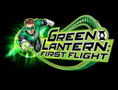 Green Lantern First Flight logo