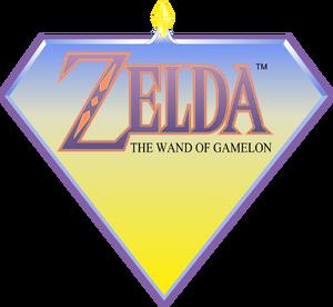 Zelda The Wand of Gamelon Logo
