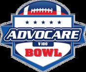 AdvoCare V100 Bowl logo