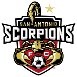 San Antonio Scorpions FC logo (one gold star)