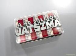 A 40 Millios Jatszma logo
