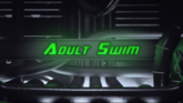 Adult Swim Toonami 20th Anniversary March 2017 Green