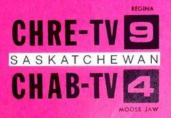 CHRE-CHAB-TV logo 1965