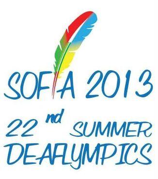 2013 Summer Deafolympics Initial Logo