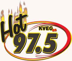 KVEG (Hot 97.5 logo)