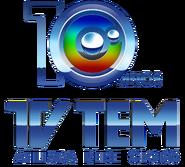 Logo tv tem 10 anos afiliada rede globo- 4k