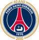 Paris Saint-Germain FC logo (40th anniversary)