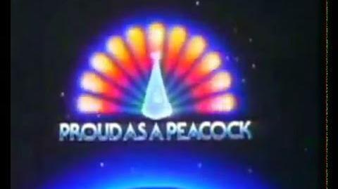 NBC Proud As A Peacock 1978 1979