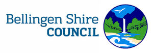 Bellingen shire council logo and name