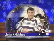 ABC 33-40 Season Greetings ID with John Oldshue