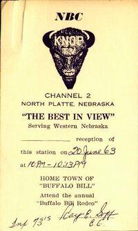 KNOP QSL 1963