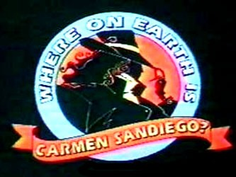Where on earth is carmen sandiego-show