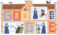 Google Elizabeth Garrett Anderson's 180th Birthday