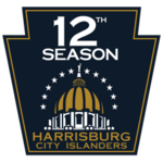 Harrisburg City Islanders logo (12th anniversary)