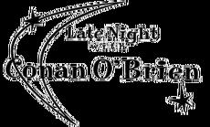 Tv nbc Late Night with Conan O'Brien logo