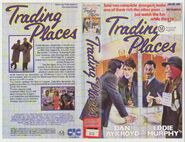 Trading Places - CIC-Taft Betamax Sleeve