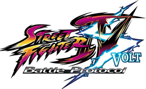 Logo Street Fighter IV Volt Battle Protocol