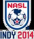 NASL logo with Indy 2014 wordmark