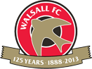 Walsall FC logo (125th anniversary)