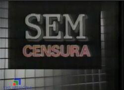 Sem Censura 1989